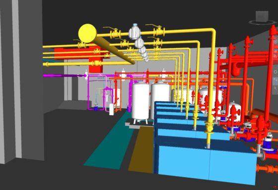 3D CAD - India Building