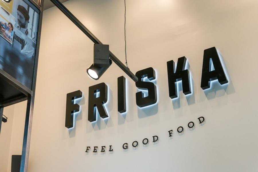 Friska - Backlit signage