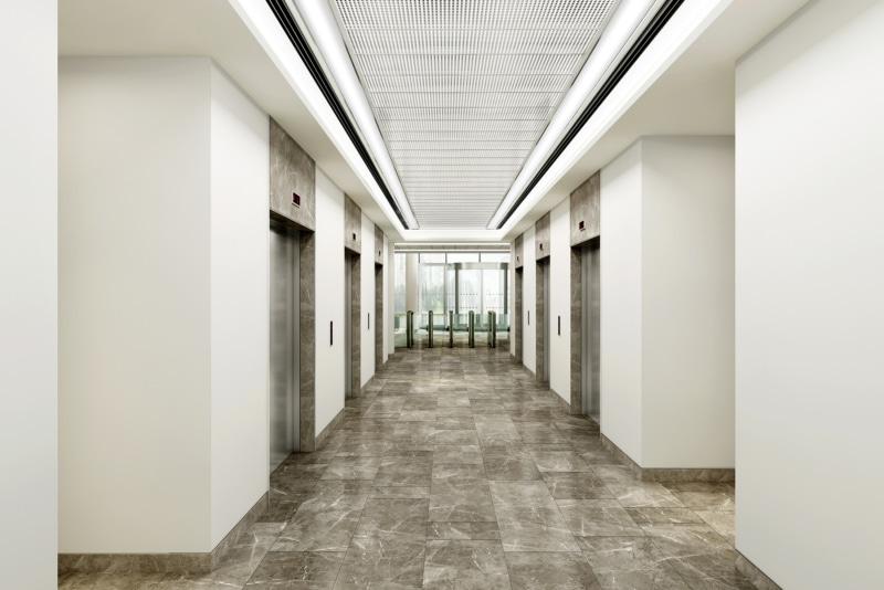 No.1 Colmore Square - Elevator lobby