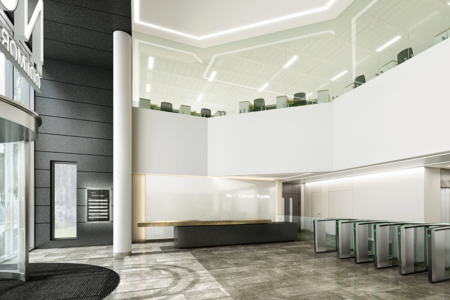 No.1 Colmore Square - Foyer and first floor