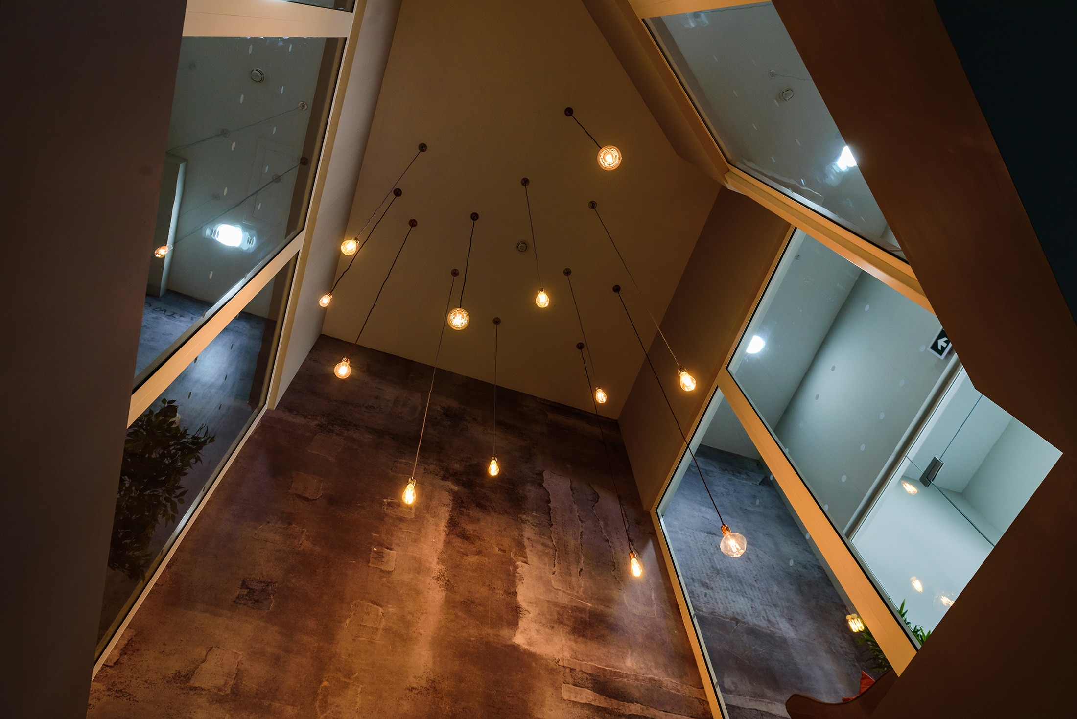 Vaulted ceiling lights