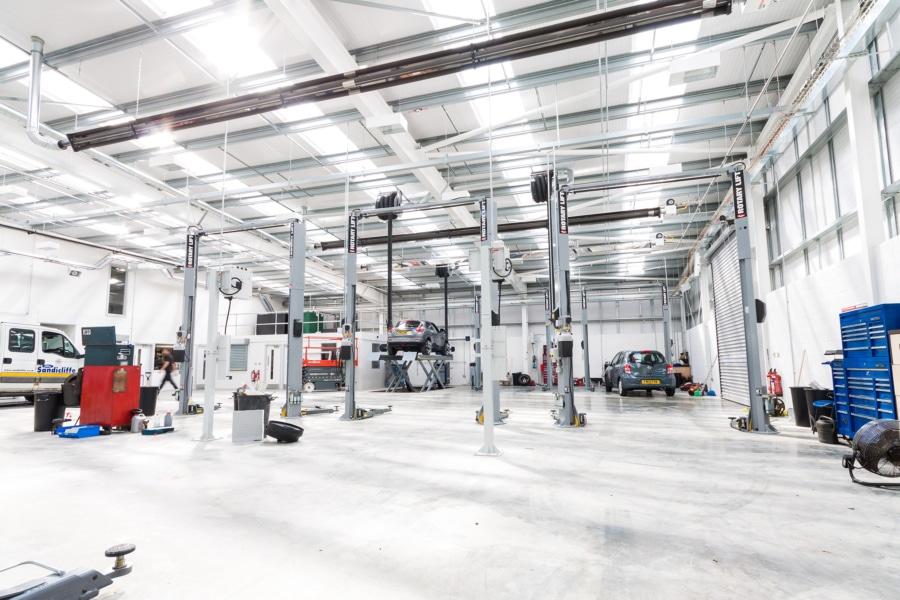 Service and repair garage