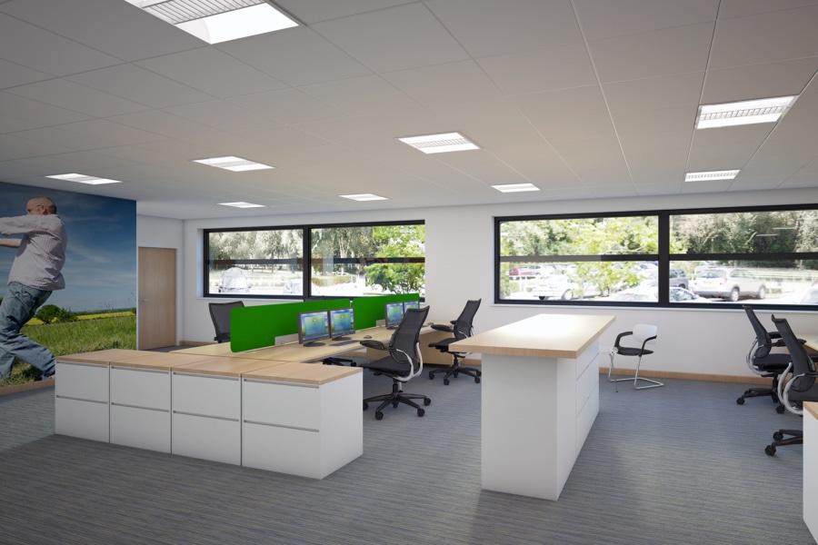 TEVA Pharmaceuticals - Office area