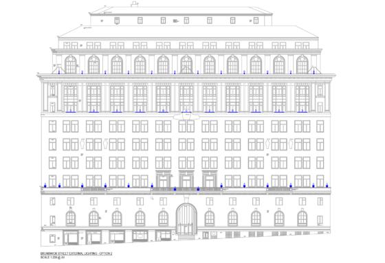 India Building - CAD Brunswick street