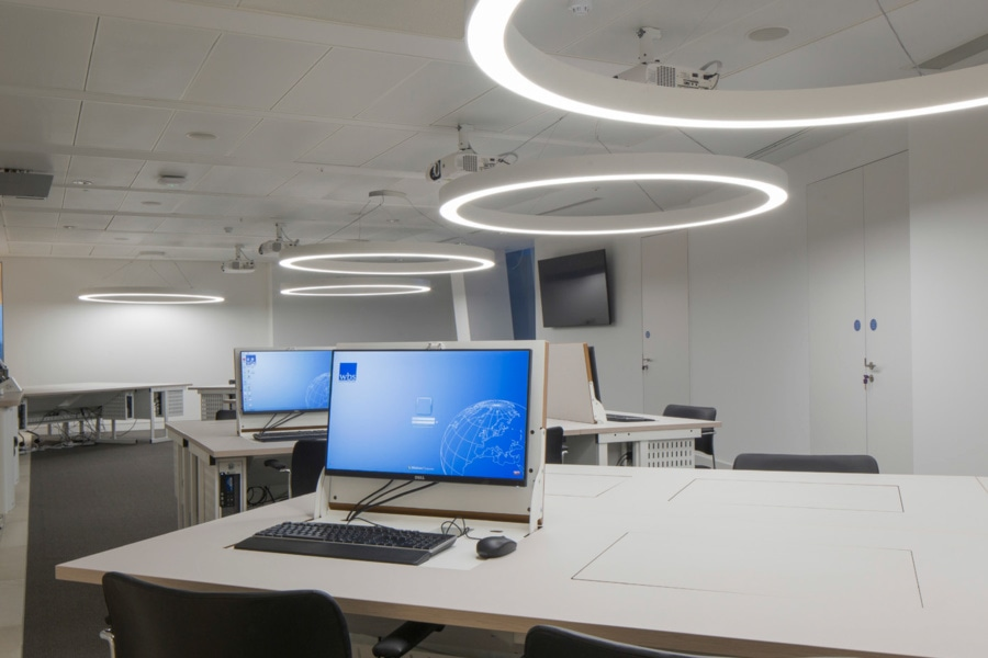 Warwick Business School - Feature lighting